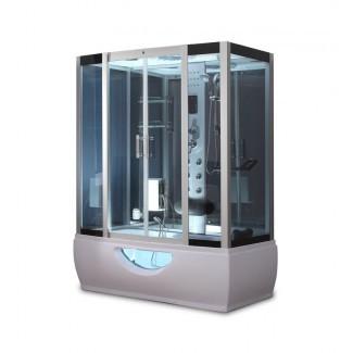 """Ducha de vapor deslizante rectangular de 58 """"x 88"""" con base incluida [19659010] <b> Ducha de vapor deslizante rectangular de 58 """"x 88"""" con base incluida </b><br /> Esta ducha de vapor no solo es moderna sino que tiene un diseño más futurista. Completo con un panel de control de pantalla táctil, tiene una gran cabeza de ducha monzónica junto con chorros para que pueda tener una experiencia de ducha completa. También tiene un masajeador de pies y un generador de vapor, lo que significa que tiene una serie de funciones, todas agrupadas en su tamaño de 58 """"por 88"""". </div> </p></div> <div class=""""vh2-board-item board-item"""" eid=""""341846""""> <div class=""""vh2-board-item-photo board-item-photo""""><img class=""""mini-check"""" id=""""i341846"""" src=""""http://mokadecoracionshop.com/wp-content/uploads/2020/04/1585821610_114_combinación-de-bañera-de-ducha-de-vapor.jpg"""" alt="""