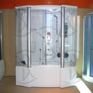 Ariel 807 Ducha de vapor, bañera de hidromasaje con hidromasaje ...