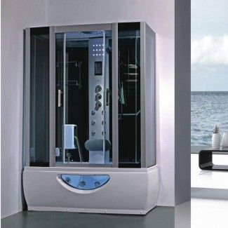 diseñador de chispas combinación de ducha de vapor de bañera de hidromasaje ...