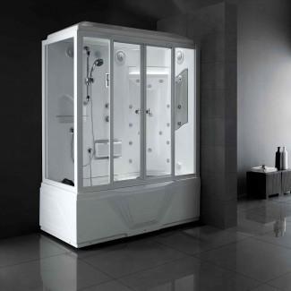 Combo de bañera de ducha de vapor de lujo - Ideas de bañera