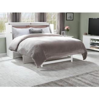 Kimsey Queen Storage Murphy Bed con colchón