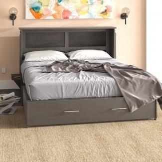 Edmeston Queen Storage Murphy Bed con colchón