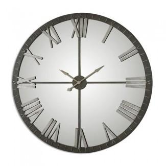 Totalmente 06419 Amelie Reloj de pared de 60 X 60 pulgadas