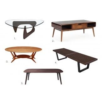 5 Irresistible Mid-Century Modern Mesas de café [19659010] 5 mesas de café modernas irresistibles de mediados de siglo </div> </p></div> <div class=