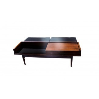 Mid Century Modern Coffee table bench American of ...
