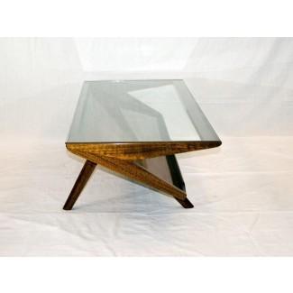 Mesa de centro Mid Century Modern Glass | Mesa de centro ...