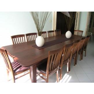 Juego de mesa de comedor para mesa de comedor para 12 y 12 personas