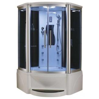 Baño Eagle Ducha de vapor de 48 pulgadas con combinación de bañera de hidromasaje