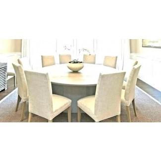 Mesa de comedor redonda de 60 pulgadas - Ideas de comedor