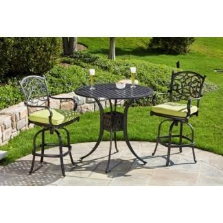 Aluminio fundido: Muebles de patio de aluminio fundido usados 