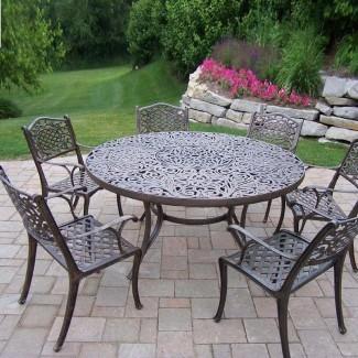 Muebles de patio Sofá con asientos profundos Aluminio fundido Nassau ...