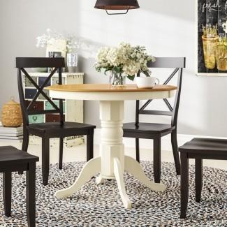 Mesa de comedor de madera maciza Dahlquist