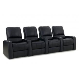 Sillón reclinable de cine en casa (fila de 4)