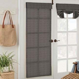 Panel de puerta exterior exterior semi-transparente sólido Key Largo