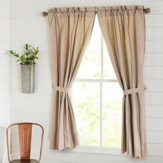 Paneles de cortina tipo Boucher (juego de 2)