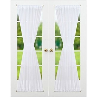 Rose Home Fashion SYNCHKG096356 RHF Voile French Door ...