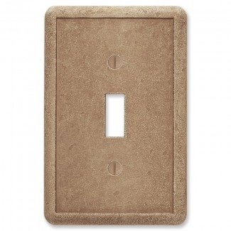 Tapa del interruptor de la luz de palanca decorativa con textura giratoria