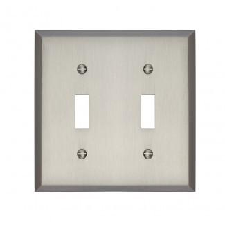 Tapa del interruptor de luz doble Graham