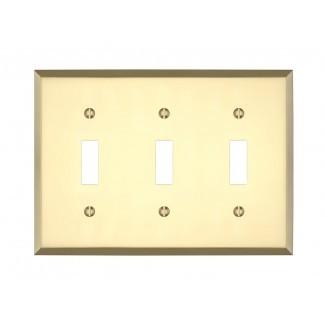 Tapa de interruptor de luz triple de Graham