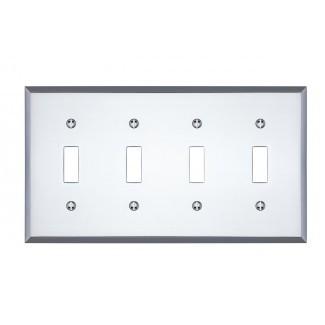 Tapa de interruptor de luz cuádruple de Graham