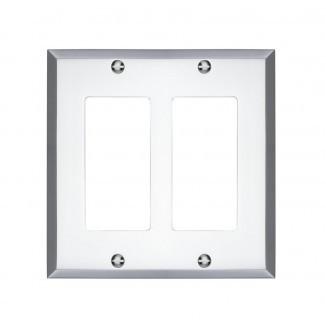 Tapa del interruptor de la luz basculante doble de Graham