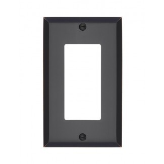 Tapa del interruptor de luz basculante simple de Graham