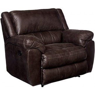 Simmons Upholstery 50433BR-195 Shiloh Granite Cuddler Sillón reclinable