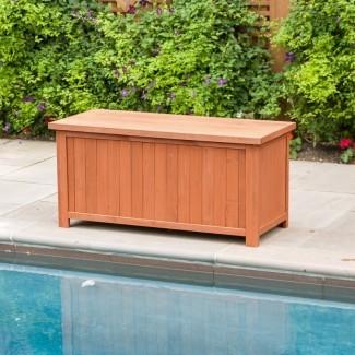 Caja de madera de 67 galones
