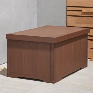 Caja de cubierta de resina de 70 galones