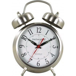 Reloj de sobremesa Twin Bell