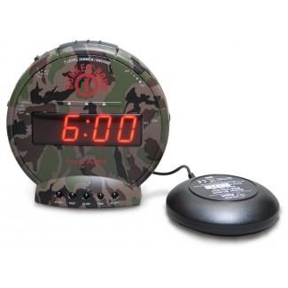 Reloj de mesa de bomba de búnker