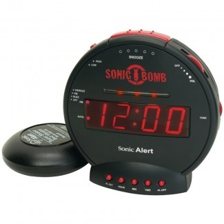 Alarma de bomba sónica Reloj de mesa