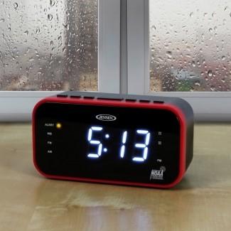AM / FM Band Weather Alert Reloj de escritorio