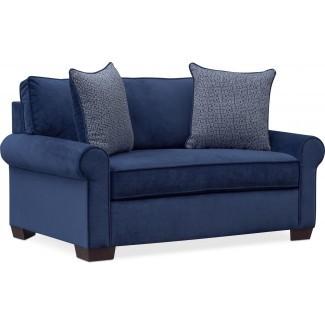 Blake Twin Memory Foam Sleeper Chair and Half -