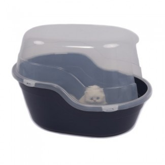 Favorito caja de arena para gatos de 25 pulgadas extra grande / cubierta gigante ...