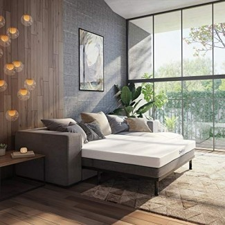 Classic Brands Gel Memory Foam Sofá de repuesto Colchón para el sofá de reemplazo Sleeper
