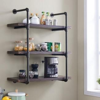 Los mejores estantes de pared para cocina: los 10 mejores soportes de montaje en pared