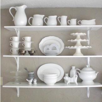 Estantes de cocina montados en la pared (estantes de cocina montados en la pared ...
