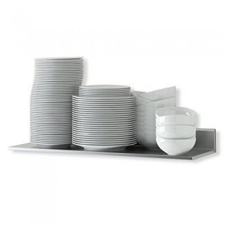 Estante de cocina de acero inoxidable duradero de 23.60 pulgadas Estante de cocina para restaurantes, negocios y restaurantes