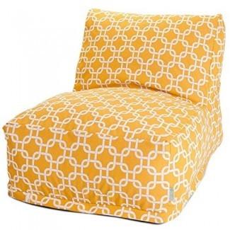 Majestic Home Goods Links Bolsa de frijoles al aire libre Tumbona de silla