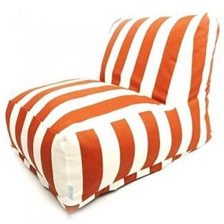 Majestic Home Goods Bolsa de judía Tumbona de silla