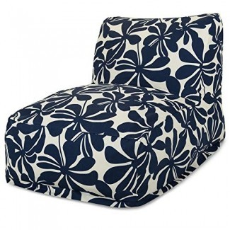 Majestic Home Goods Plantación de bolsita de haba Tumbona de silla