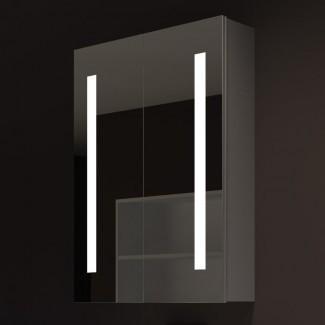 "Lency 24 ""x 32"" Gabinete de medicina de montaje en superficie con iluminación LED"