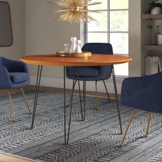 Chrisman Hairpin Dining Table