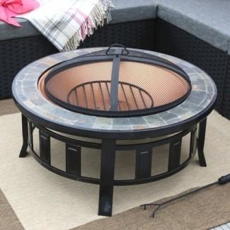 Ba ner Garden Steel - Mesa para fogatas de leña -