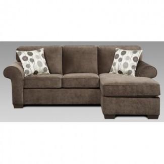 sofá cama queen con sección -