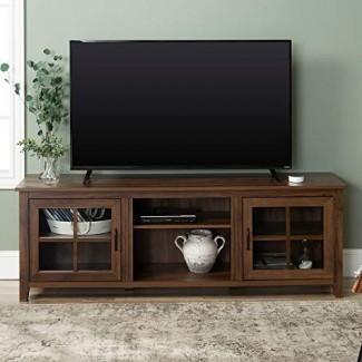 "WE Furniture AZ70CSGDDW Soporte de TV 70 """