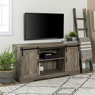 WE Furniture AZ58SBDGW Soporte de TV
