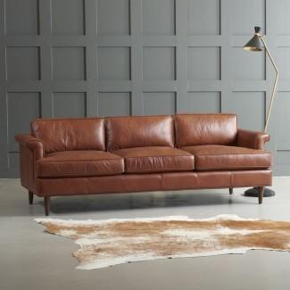 Sofá de cuero Carson