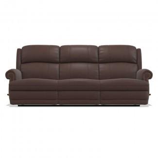 Sofá reclinable de cuero completo Reclina-Way® de Kirkwood
